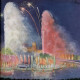 New York World?s Fair, fireworks and fountain spectacle, 1939