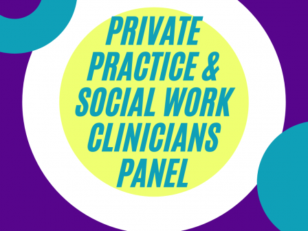 Silver Career Connections: Private Practice & Social Work Clinicians Panel