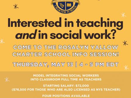 Rosalyn Yalow Charter School Info Session