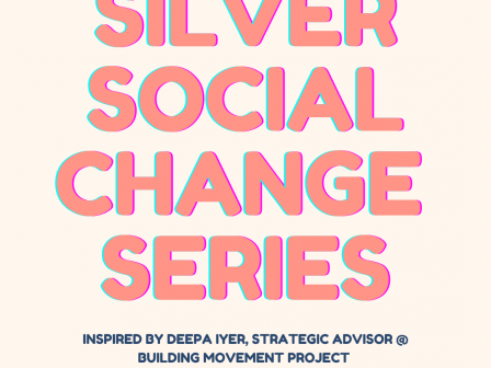Silver Social Change Series: IG-Live with Dr. Merritt about the role of a DISRUPTOR
