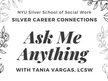 Ask Me Anything: Tania Vargas, LCSW (MSW '16)